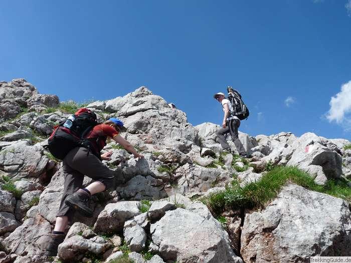 Klettersteig Norddeutschland : Fotos trekking wandern bergsteigen in deutschland