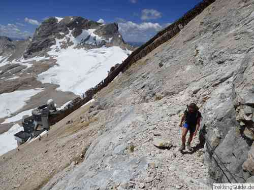 Klettersteigset Zugspitze : Zugspitze via stopselzieher leichter klettersteig