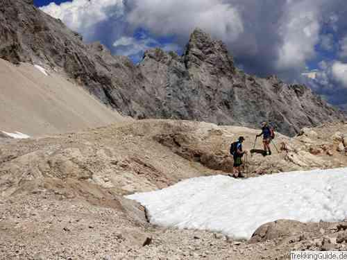 Jubiläumsgrat Klettersteigset : Wetterstein: zugspitze wandern trekking bergsteigen