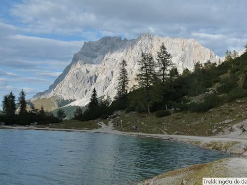 Wetterstein: Zugspitze, Wandern, Trekking, Bergsteigen