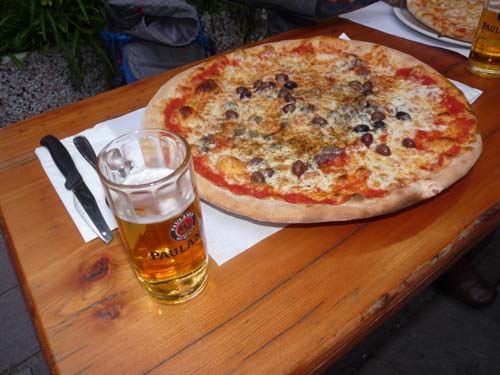 Pizza, Ligurien, Italien