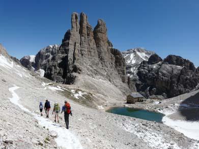 Klettersteig Rosengarten : Südtirol und die dolomiten: wandern trekking bergsteigen