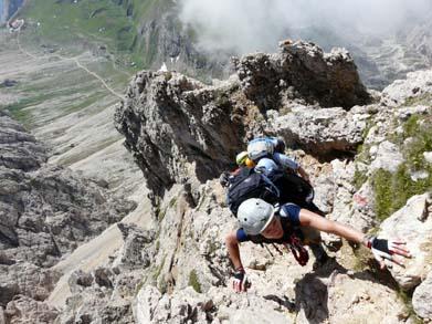 Hindelanger Klettersteig Unfall : Klettersteige tourenvorschläge und infos