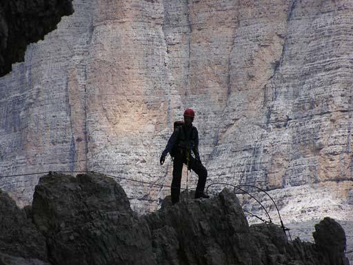 Klettersteig Rucksack : Klettersteig: technik und sicherung