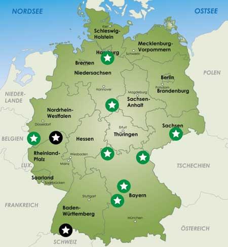 karte wanderwege deutschland Wandern und Trekking in Deutschland: Wege