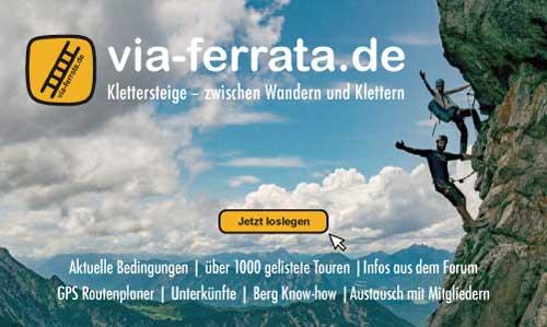 Klettersteigset Selber Knoten : Klettersteig: technik und sicherung