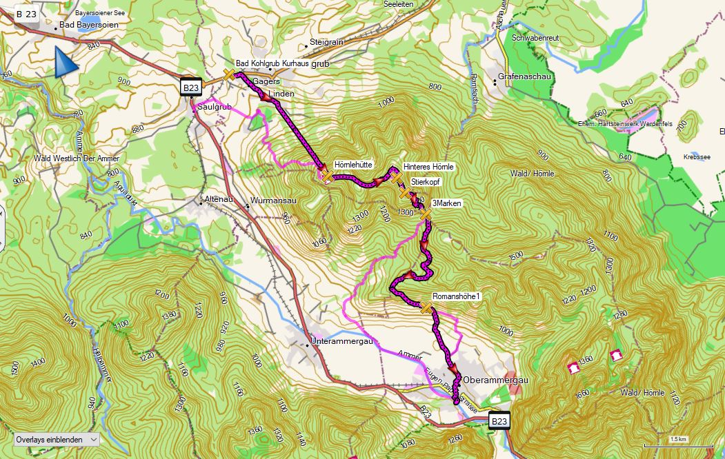 Bergtouren Um Oberammergau