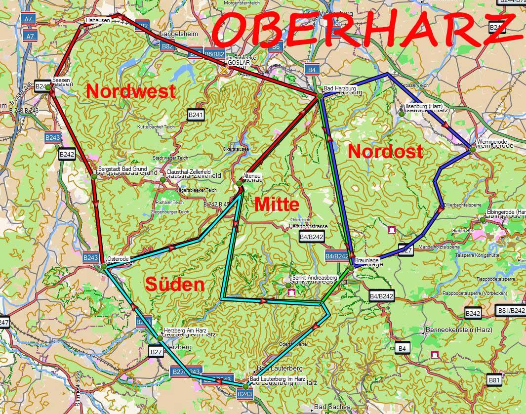 Harz Wanderwege