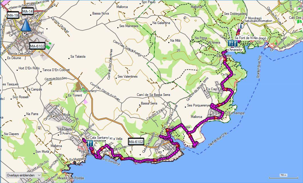 Wandern Mallorca Sudosten Touren In Der Sudlichen Sierra De Levante